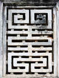 Abstract symbol at a confucius temple Royalty Free Stock Image