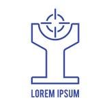 Abstract symbol logo Stock Image