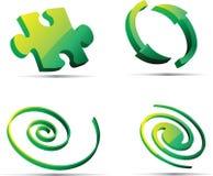 Abstract symbols Stock Photography
