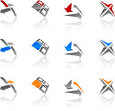 Abstract symbols. Stock Photography