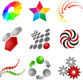 Abstract symbols Stock Photo