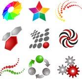Abstract symbols Stock Photo