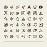 Abstract symbols Stock Photography