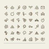 Abstract symbols Stock Image