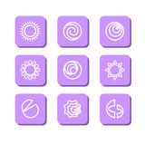 Abstract symbols Royalty Free Stock Photo