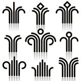 Abstract symbols set. Stock Photo