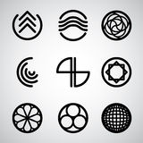 Abstract symbols set 2. Stock Photography