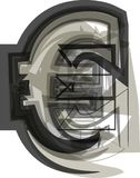Abstract symbool Vector Illustratie