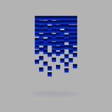 Abstract symbool voor uw bedrijf Royalty-vrije Stock Afbeelding