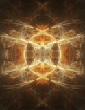 Abstract Symetrical Smoke Graphic Stock Photography