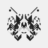 Abstract symmetric design element Royalty Free Stock Photography