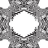 Abstract symmetric geometric pattern. Can be repeated. Stock Photography