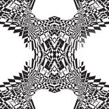 Abstract symmetric geometric pattern. Can be repeated. Royalty Free Stock Photos