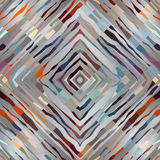 Abstract symmetric pattern on gray background Royalty Free Stock Photos