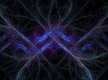 Abstract symmetrical fractal Stock Photography