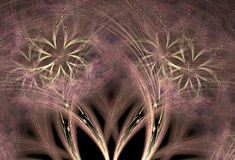 Abstract symmetrical fractal Stock Photos