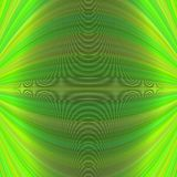 Abstract symmetrical motion background from thin curved lines - vector graphic design Royalty Free Stock Photo
