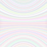 Abstract symmetrical motion background from thin curved lines in light color tones Stock Photo