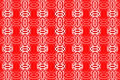 Abstract symmetrical background. Abstract symmetrical red and white background - vector pattern, Abstract leaves - vector background Stock Photos