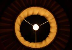Abstract symmetrical shot of a lamp shade Stock Photos