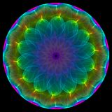 Abstract symmetrical symbol Royalty Free Stock Photos