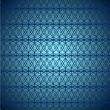 Abstract symmetrical texture: blue intertwining lines on blue-blue background. Abstract symmetrical texture: blue intertwining lines on a blue-blue background Stock Image