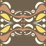 Abstract symmetrisch ontwerp vector illustratie