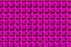Abstract symmetrisch patroon in purple en roze vector illustratie