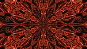 Abstract symmetry beautiful kaleidoscope, 3d rendering background, computer generating stock video footage