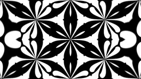 Abstract symmetry black and white kaleidoscope, 3d render backdrop, computer generating. Abstract symmetry black and white kaleidoscope, 3d rendering backdrop Royalty Free Stock Photo