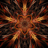 Abstract symmetry and colors Royalty Free Stock Photography