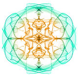 Abstract symmetry figure Royalty Free Stock Images