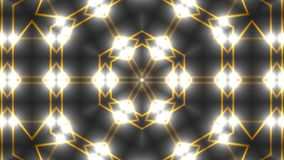 Abstract symmetry kaleidoscope - fractal lights, 3d render backdrop, computer generating background. Abstract symmetry kaleidoscope - fractal lights, 3d Stock Image