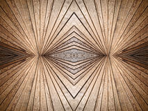 Abstract symmetry wooden texture pattern as background. Stock Photo