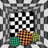 abstract szachy royalty ilustracja