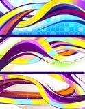 abstract sztandarów target943_1_ elegancki Obraz Royalty Free