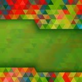 abstract tła kolorowej kolorystyki łatwej kartoteki geometrycznego płatowatego manipulaci wektor Obrazy Stock