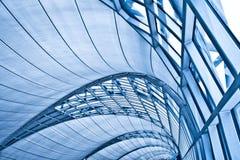 abstract tła wnętrze błękitny podsufitowego Zdjęcia Stock