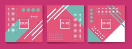 abstract t?a kolorowej kolorystyki ?atwej kartoteki geometrycznego p?atowatego manipulaci wektor ilustracji