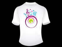 Abstract t-shirt design Stock Photo