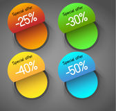 Abstract tags royalty free illustration