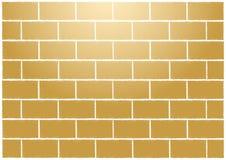Abstract tan bricks wall Royalty Free Stock Images