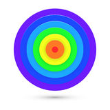 Abstract Target Background. Vector Royalty Free Stock Images