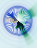 Abstract target concept Royalty Free Stock Image