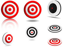 Abstract  targets set Royalty Free Stock Image