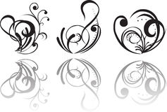 Abstract tattoo Stock Images