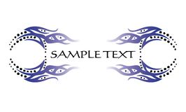 Abstract tattoo element for design Royalty Free Stock Photo