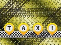 Abstract taxi background design Stock Photos