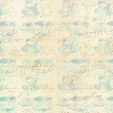 Abstract tea cup background Royalty Free Stock Photo
