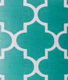 Abstract teal and white patern stock image